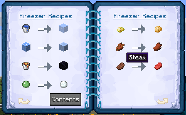 Mrcrayfish recipeapi as you can see inside the recipe book from the furniture mod our custom recipes are displaying and that means they successfully registered happy hooking forumfinder Choice Image